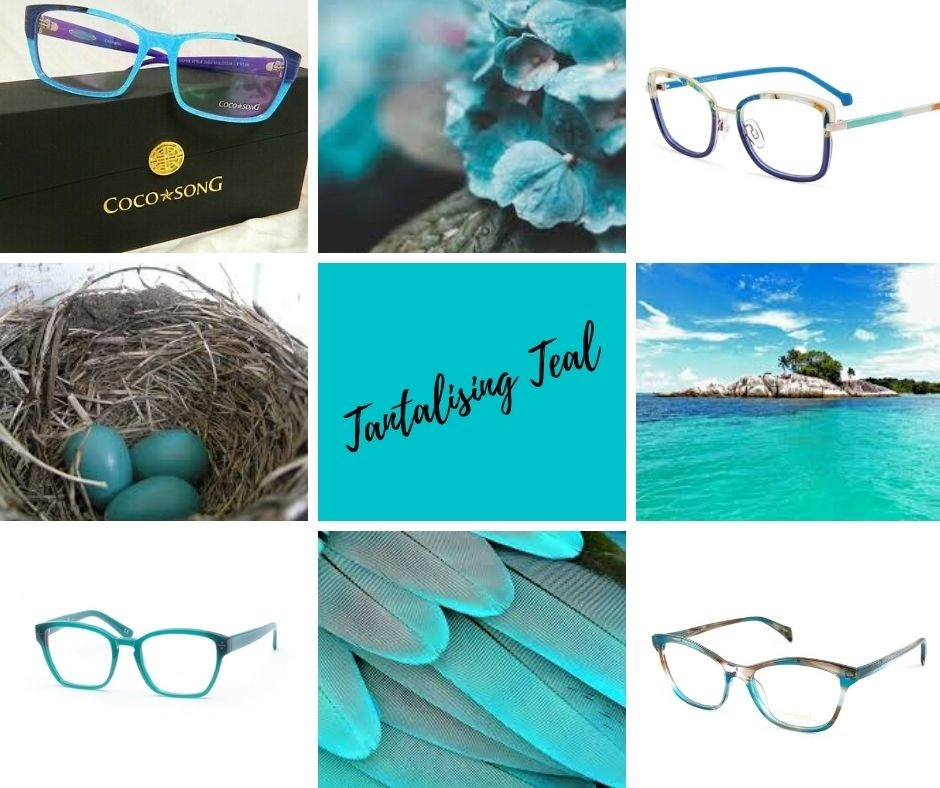 Tantalising Teal Collage Facebook Post