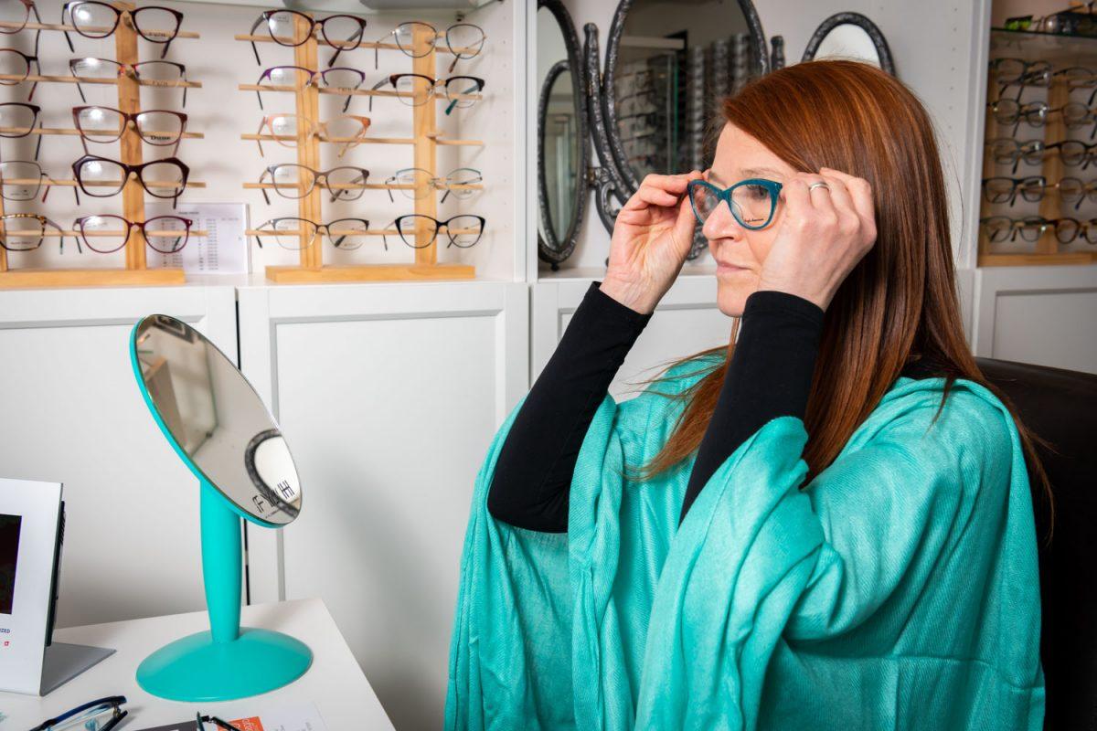 Eyewear styling by Allegro Optical