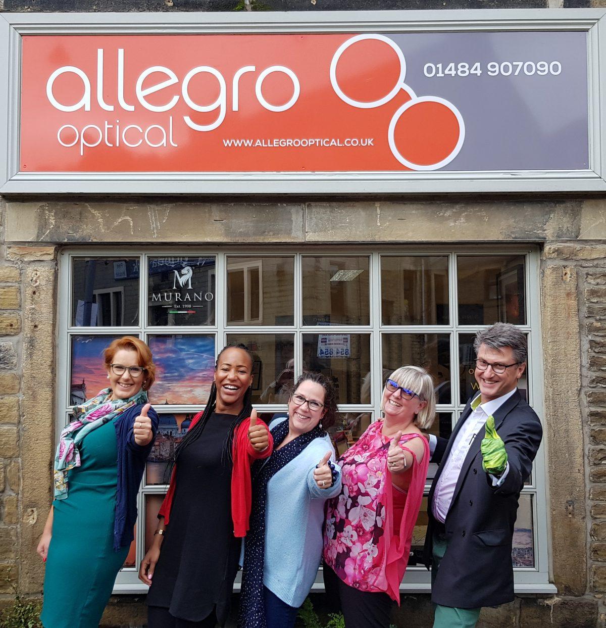 David Green at Allegro Optical